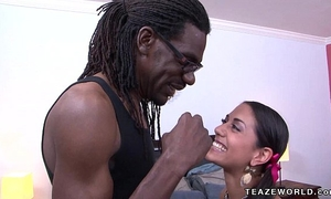 Lyla storm acquires a large dark rod