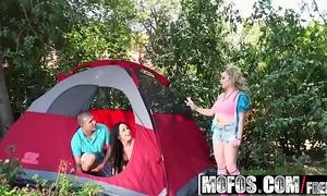 Mofos - mofos b sides - camp counselors got some large milk sacks starring aiden starr