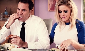 Busty blond desires her friend's daddy - jessa rhodes