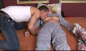 Guy breeding sleeping slutwife