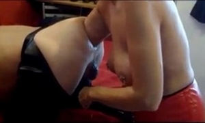 Ferza21 hotwife does fantastic arm unfathomable fisting on her fellow
