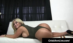 Boss cristi ann confronts employee who stole her obscene pantyhose!