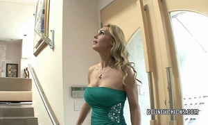 Mature doxy tanya tate copulates and takes the cum on her love melons