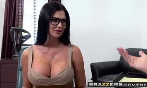 Big bazookas at work - quid pro blow scene starring jasmine jae keiran lee