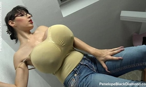 Penelope dark diamond - milking love muffins - breastfeeding zeppelins preview