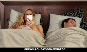 Shewillcheat - slut slutty wife finds 1st bbc on social media