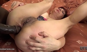 Grannies hardcore screwed interracial porn with old hotties loving dark schlongs