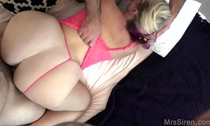 Curvy housewife shared with a ally