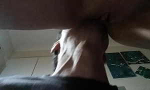 Watch me having cum multiple whilst getting my love tunnel sucked and drilled.