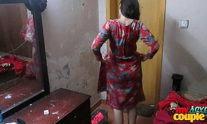 Indian slutty wife sonia in shalwar suir undresses undressed hardcore xxx fuck