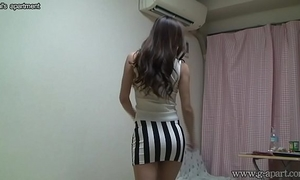 Peeping nude japanese amateur wife madoka at her room