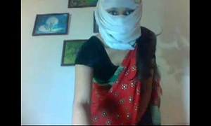 Desi married skinny hawt cheating wife removing her saree showing her hot body clip0 7920