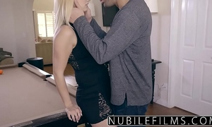 Nubilefilms - cheating horny white wife craves knob and cum