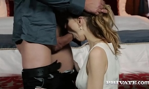 Belle claire takes a creampie in a mansion...