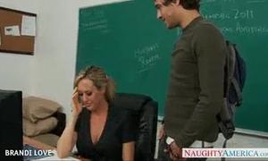 Brandi shaikh is drilled hard by her student
