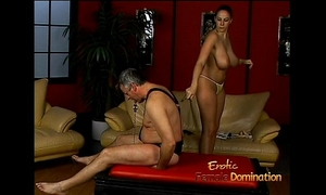 Lusty stunner gianna michaels actually enjoys drubbing a latex-clad stud-horse