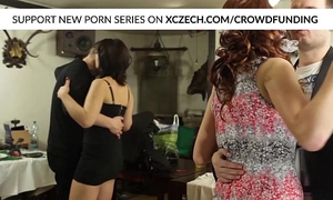 Wedding fuckfest with chubby gals who are hard drilled by large knobs