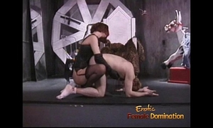 Stunning redhead looker enjoys whipping her incredibly slutty paramour sensually