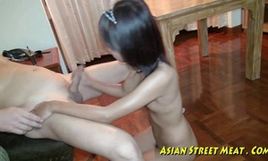 Asian girlette does anal for love specie and health