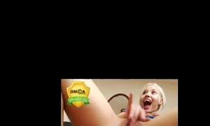 Hot blond web camera squirt