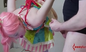 Nonstop a-hole to face hole for pliant circus slutty wife