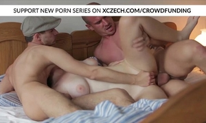 Titty czech horny white wife is drilled by large cocks