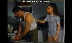 Melodie kiss, centrine, cheryl in vintage porn video