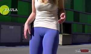 Spanish gals showing cameltoe