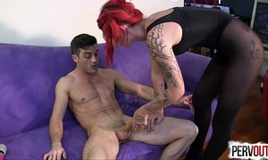Ariel kay roommate control with lance hart hose edging femdom