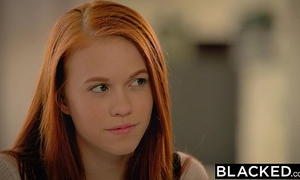 Blacked 1st large dark rod for legal age teenager dolly little