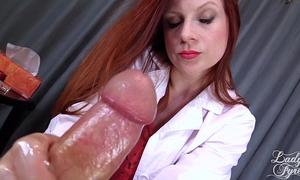 Doctor's viagra boner cure: full movie scene hj by cheating wife fyre femdom