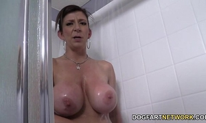 Sara jay bonks dude whilst her guy toy sees