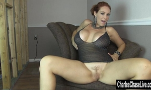 Home renovation fingering with large tit charlee follow