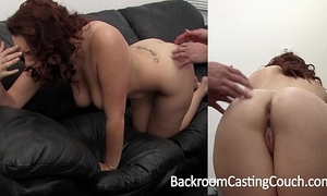 Big tit dilettante painful 1st anal on casting couch