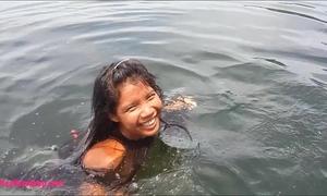 Tiny thai nubiles heather unfathomable deepthroats monster spunk flow on boat