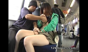 Japanese public oriental sex in the educate