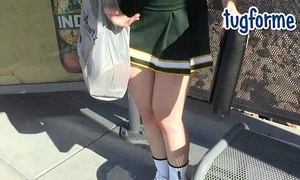 Katie morgan peeing her taut jeans omorashi wetting