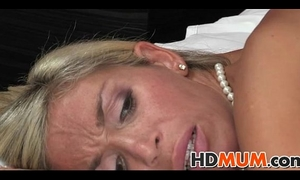 Stunning golden-haired mum sex