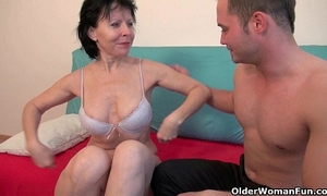 Sex with grandma is so much greater quantity enjoyment