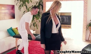 Oiled massage playgirl blake rose a-hole screwed