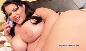 Angelina castro give the most good pov oral-job and acquires spunk fountain!