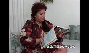 Fat older calls 2 youthful escort gals
