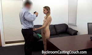 Young stripper gazoo drilled and creampie