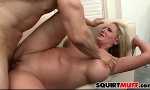 Zoey holiday squirting cookie