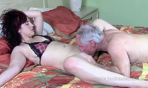 Playtime for the black cock slut with lady italy and jack moore as uncle jack
