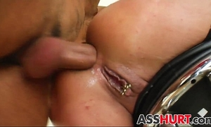 Angelica d receives coarse anal