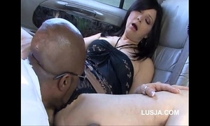 Black bull pounding golden-haired amateur wife