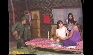 Thai army and village angels