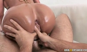 Anal slide and slip - franceska jaimes