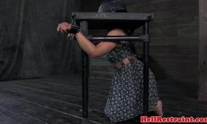 Spider gagger slut receives it coarse